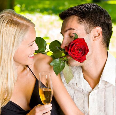Rose in lips