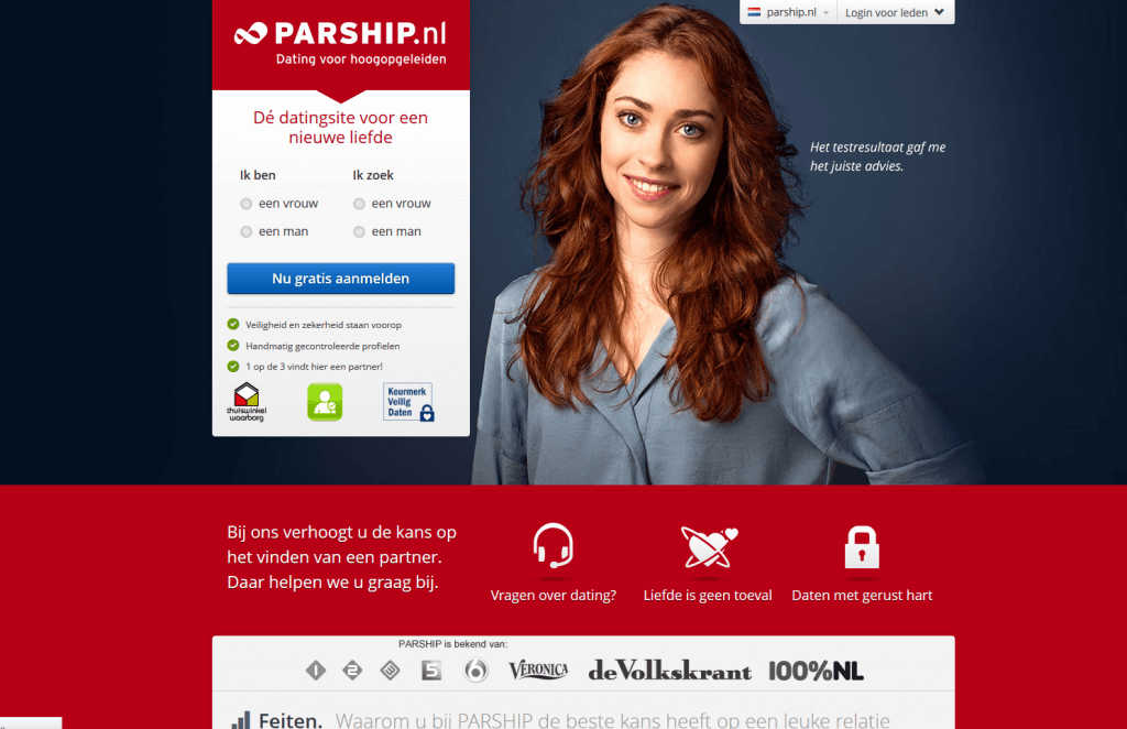 Parship dating website